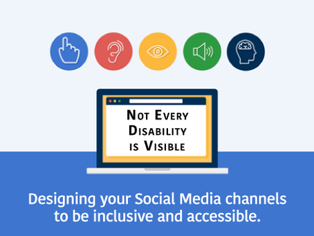 Create Inclusive Social Media: Not Every Disability is Visible