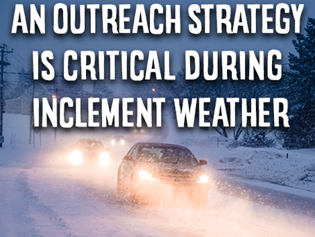 Communication is Critical During  Severe and Unusual Weather