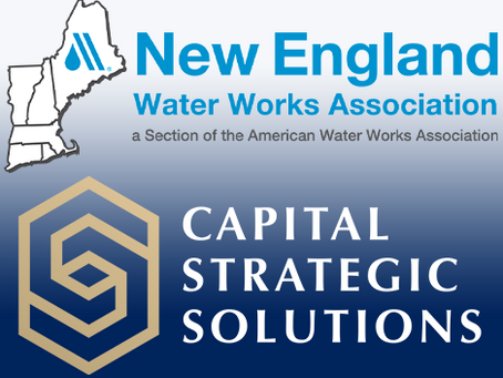 Capital Strategic Solutions to Participate in New England Water Works Association Learnapalooza!