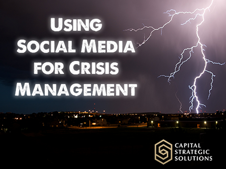 Use Social Media to your Advantage During Crisis Management
