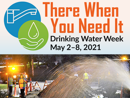 Our Team is Celebrating Drinking Water Week!