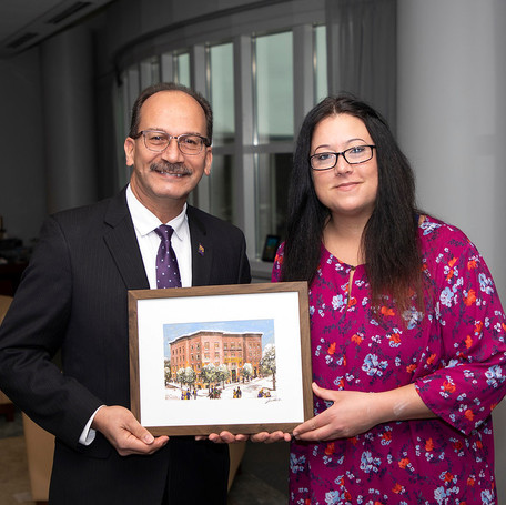 2019 SUNY Albany Holiday Card Contest Winner