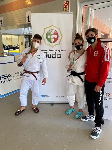 Exito de Lorien y Alba en la Competición Internacional Cadete de Coimbra