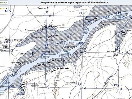 Карта затопленных деревень: что покоится на дне Обского моря.