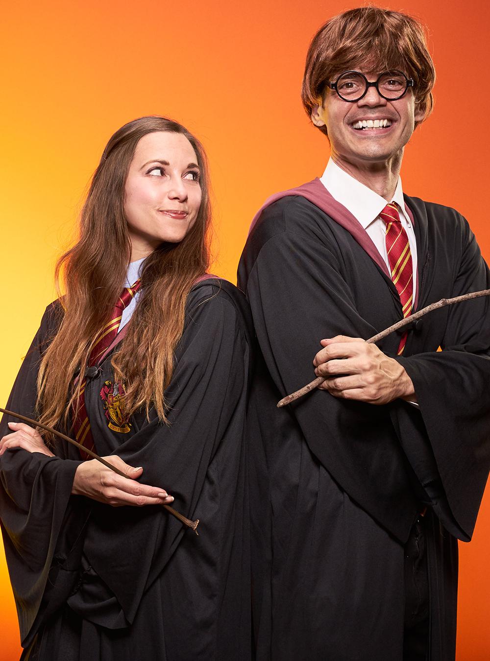 Hermione Grandger & Harry Potter