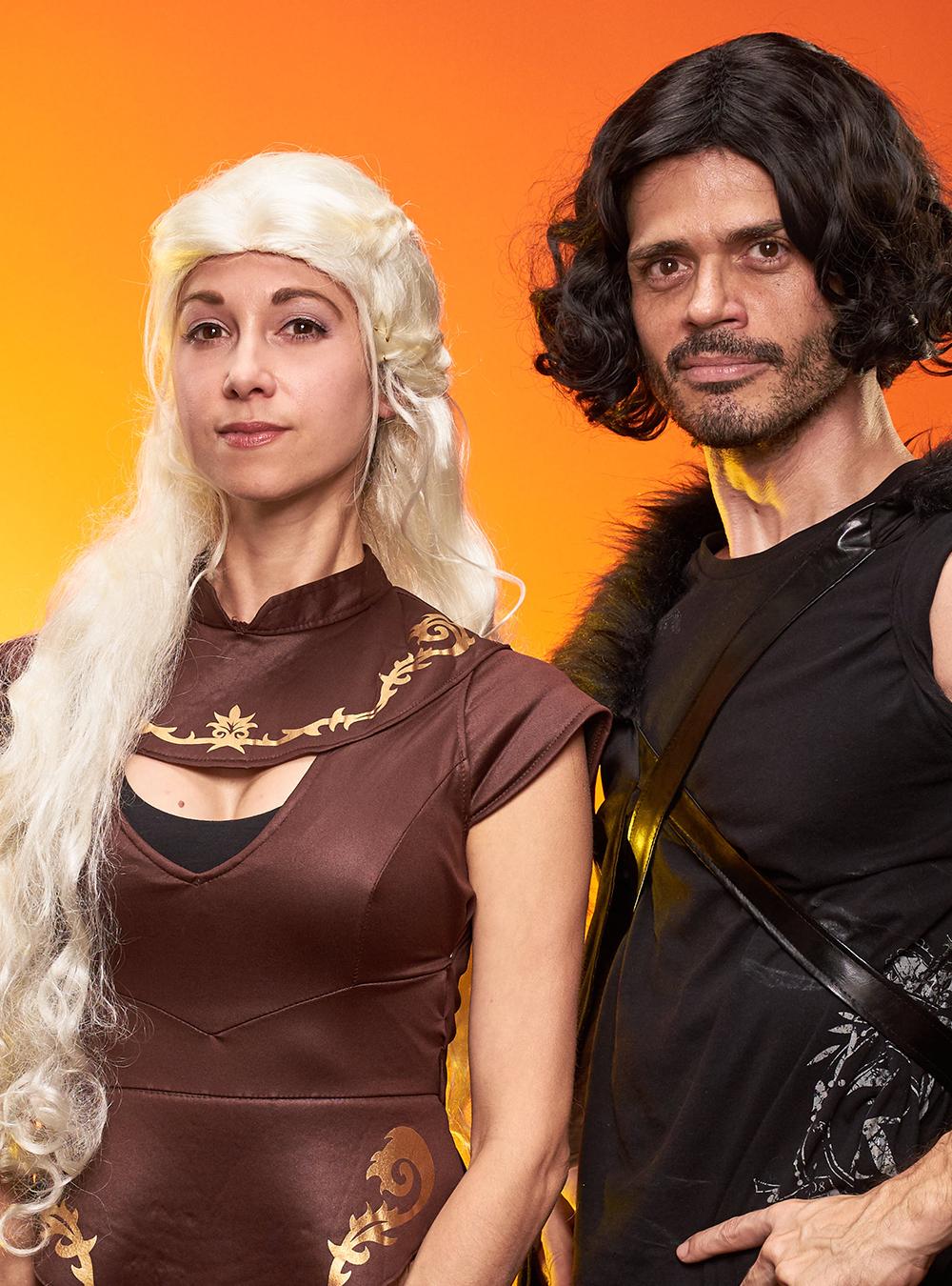 Jon Snow and Daeneryous