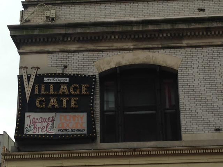 Picture of the Old Village Gate, a Greenwich Village Music Club