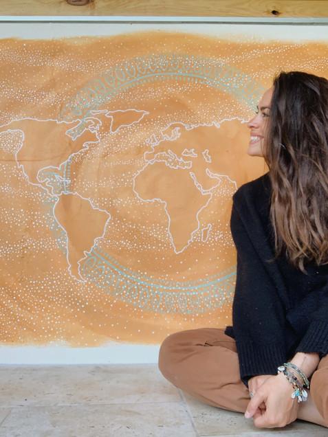 World Map Flow