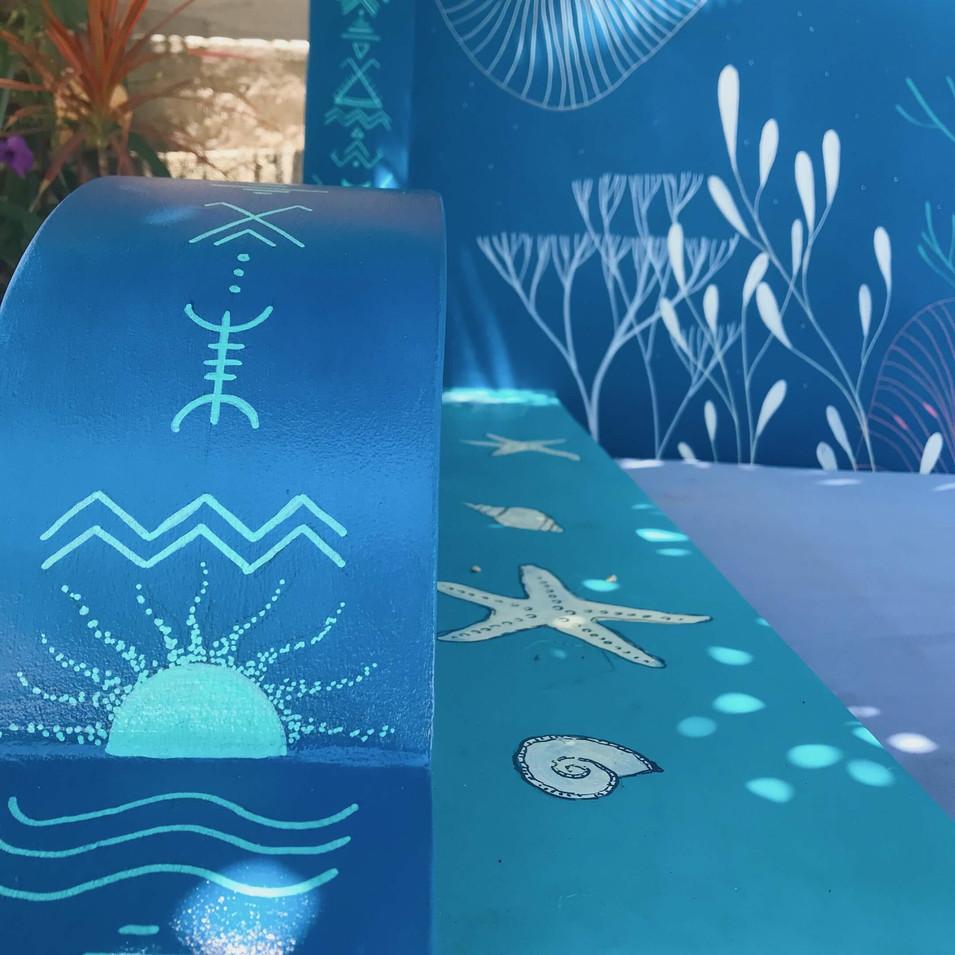Chlo Hej - Underwater Bench - 2020