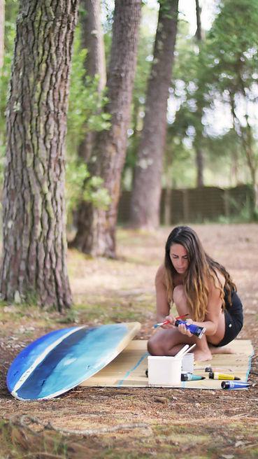 girl forest painting surfboard.jpg