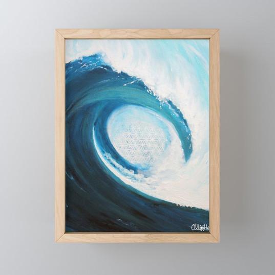Framed Mini Art Print / Mini Impressions encadrées