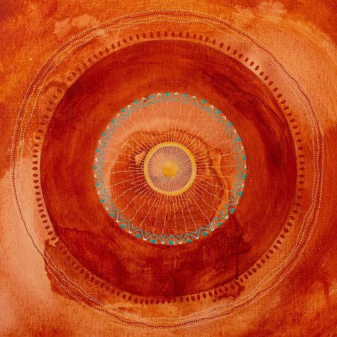 Inner Fire peinting mandala
