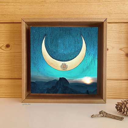 NEW MOON OVER THE MOUNTAINS - presale