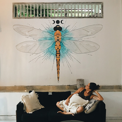 Dragonfly Mural