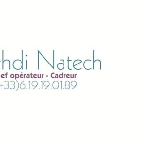 Mehdi Natech - Chef Opérateur & Cadreur - 2018