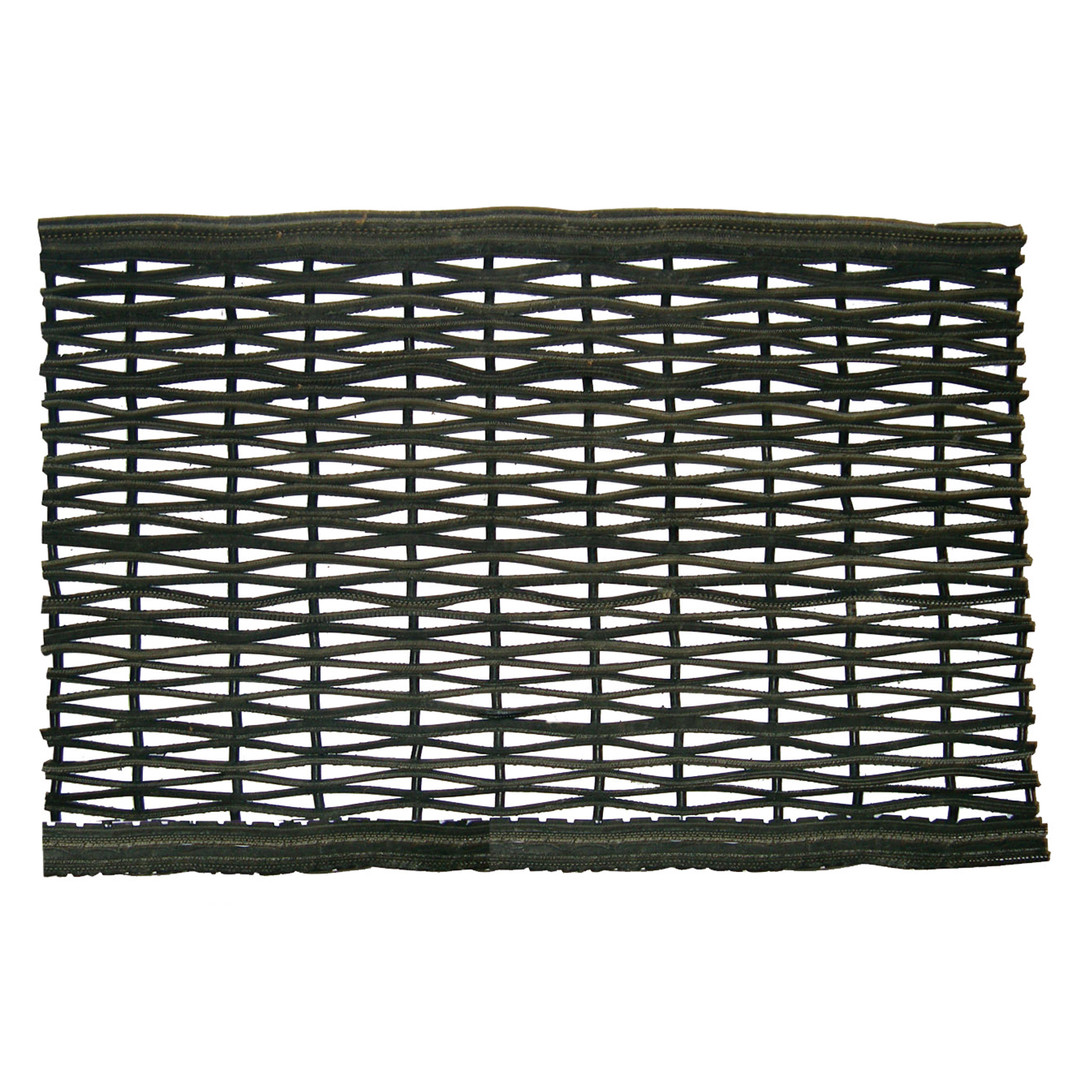 ECOMAT RECYCLED TIRE MAT BLACK