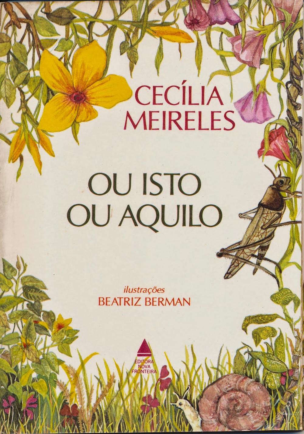 Ou Isto ou aquilo_ Cecília Meireles