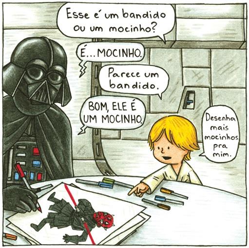 Darth Vader e Filho. Editora Aleph