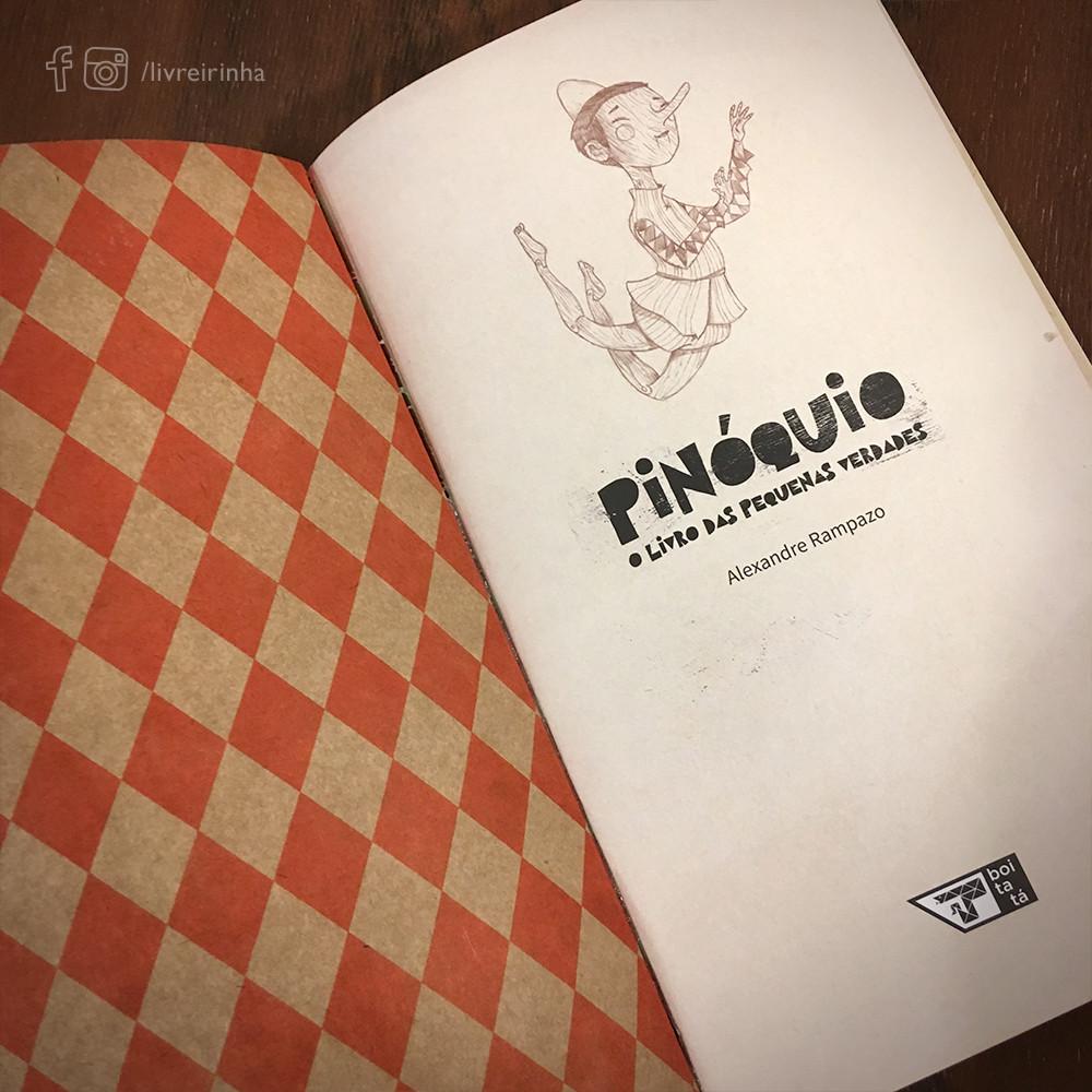 Pinóquio O Livro das Pequenas Verdades