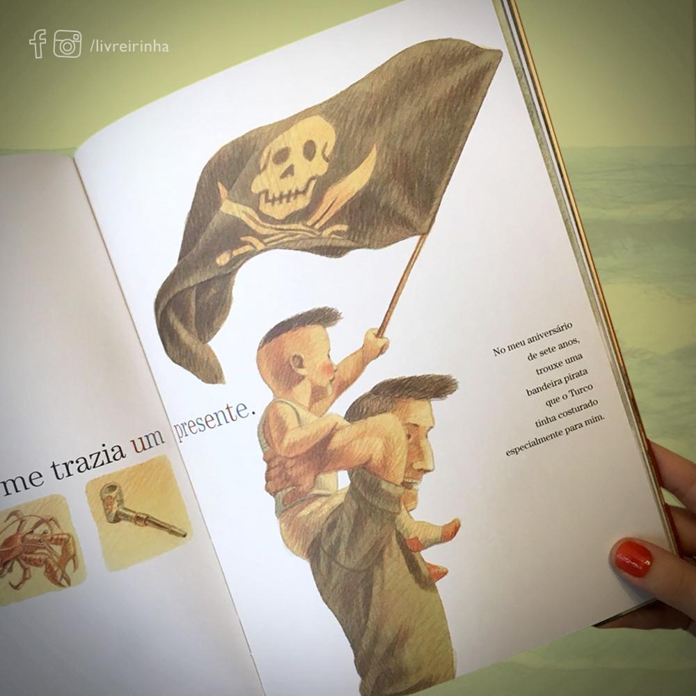 Meu pai, o grande pirata_Davide Cali