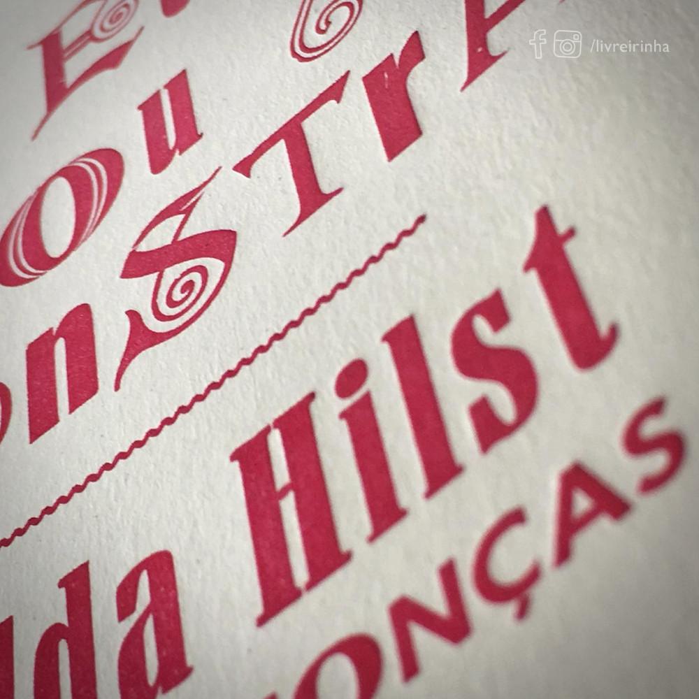 Eu sou a Monstra _ Hilda Hilst para crionças