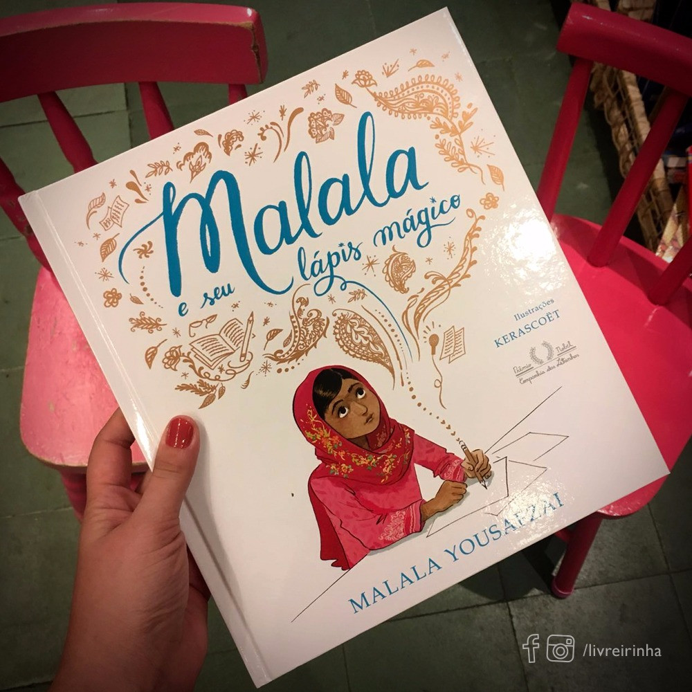 Malala e seu lápis mágico