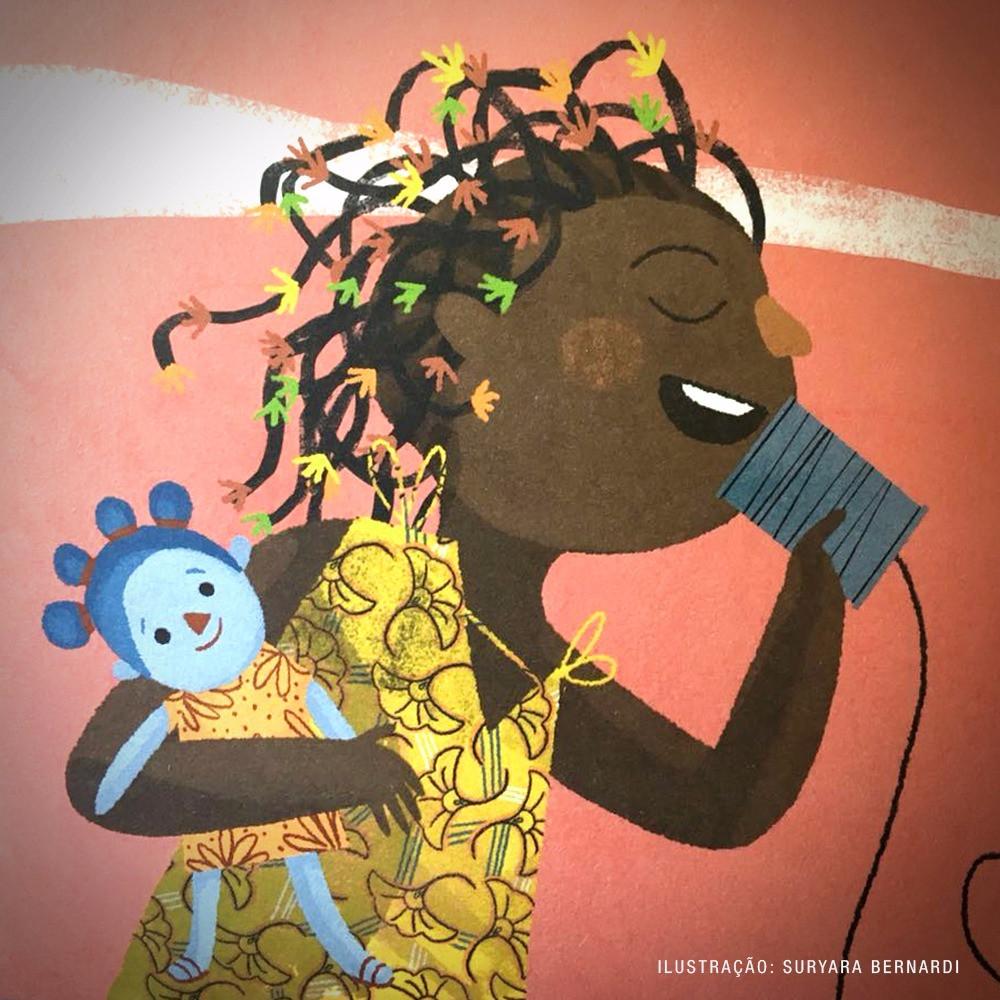 A menina que abraça o vento