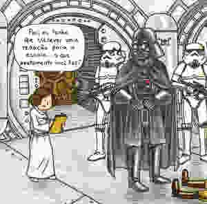Princesinha de Vader. Editora Aleph.