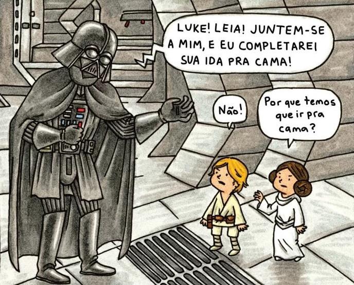 Boa Noite Darth Vader. Editora Aleph.