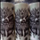 "Thumbnail: Wu Tang 8"" Decorative Pillar Candle"
