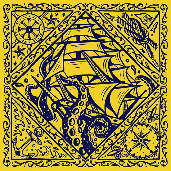Sailor's Delight Bandana Yellow