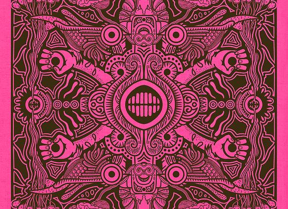 Psychonaut Bandana Pink