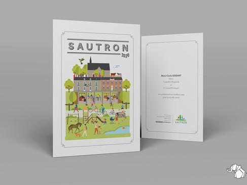 La ville de Sautron
