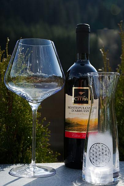Weindekanter mit Lebensblume