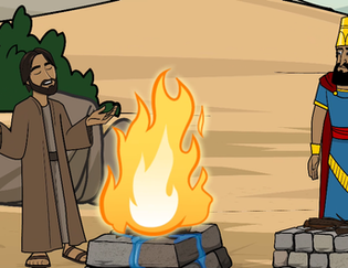 Elijah and the Fire