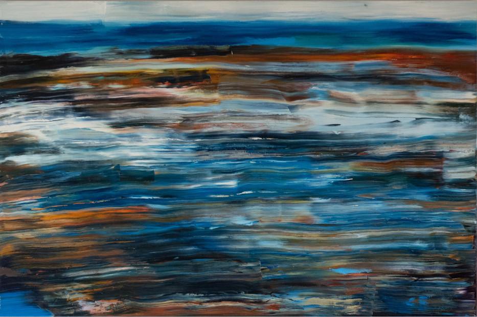 Blue Shore 61cm x 91cm