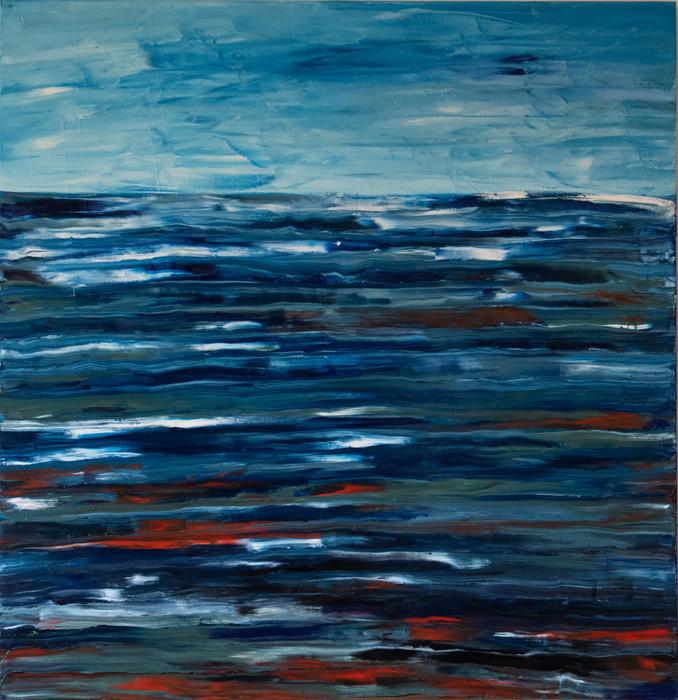 Night Sea 61cm x 91cm