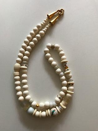 Bone bead strand