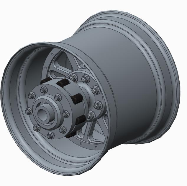 Rear Wheel Asm