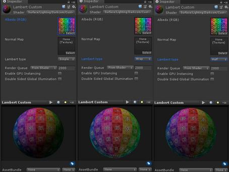Cómo hacer tus propios modelos de iluminación en shaders de superficie