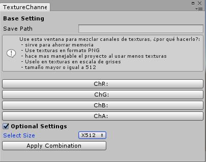 Channel Combinator, una pequeña herramienta útil para tus proyectos en unity