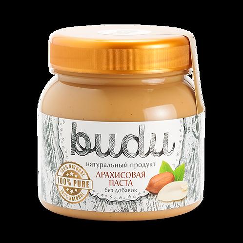 Арахисовая паста BUDU «Без добавок»