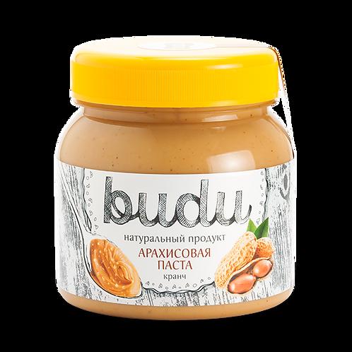 Арахисовая паста BUDU «Кранч»