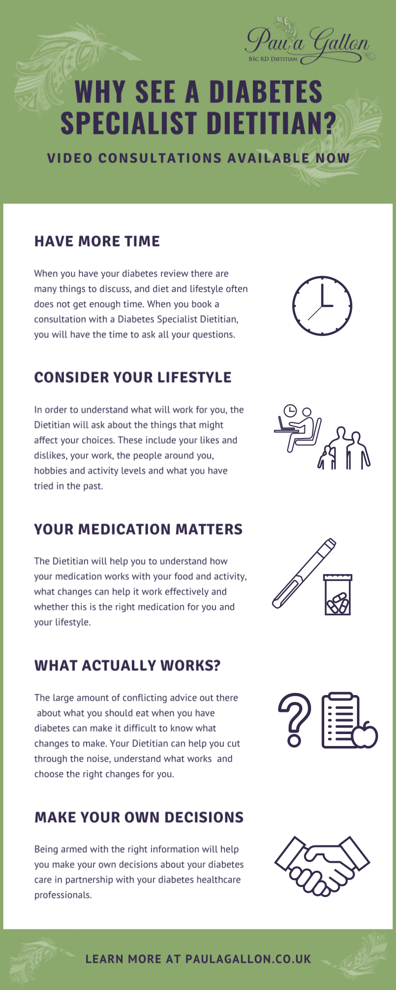 Infographic: Why See a Diabetes Specialist Dietitian