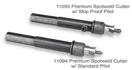 Blair Premium Spotweld Cutters come in two different styles