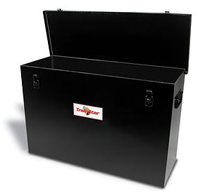 Rail drill storage box