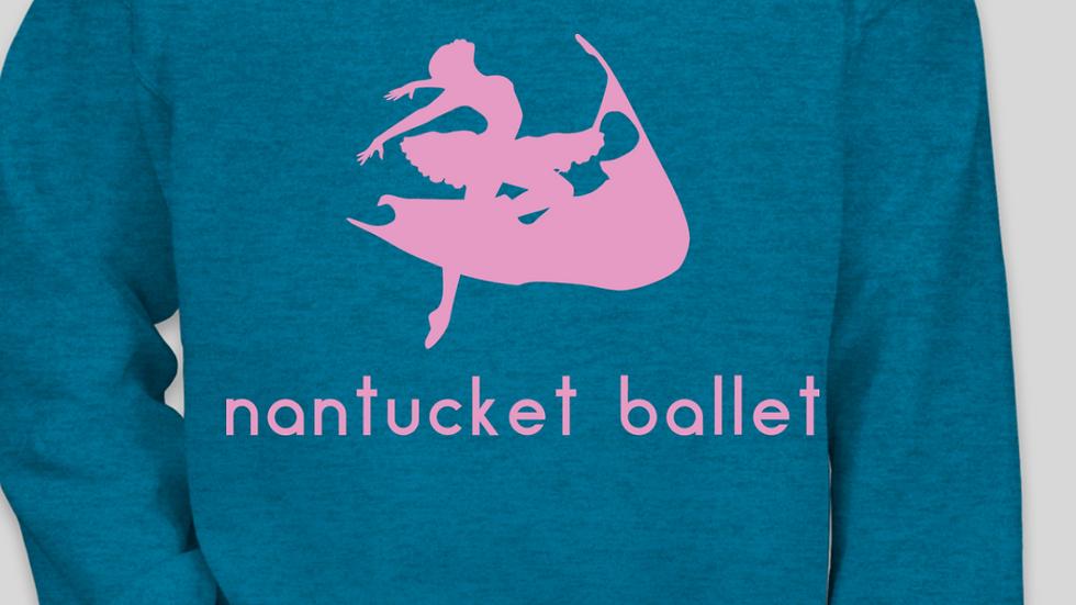 Antique Sapphire Nantucket Ballet Crewneck