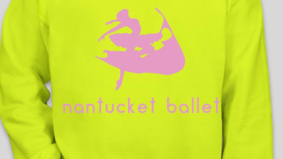Safety Green Nantucket Ballet Crewneck