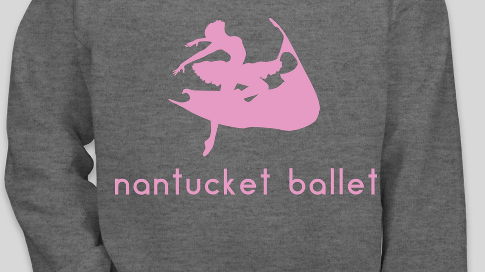 Grey Nantucket Ballet Crewneck