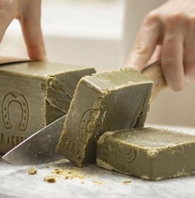 Tranche de savon de marseille bio Nantes 44